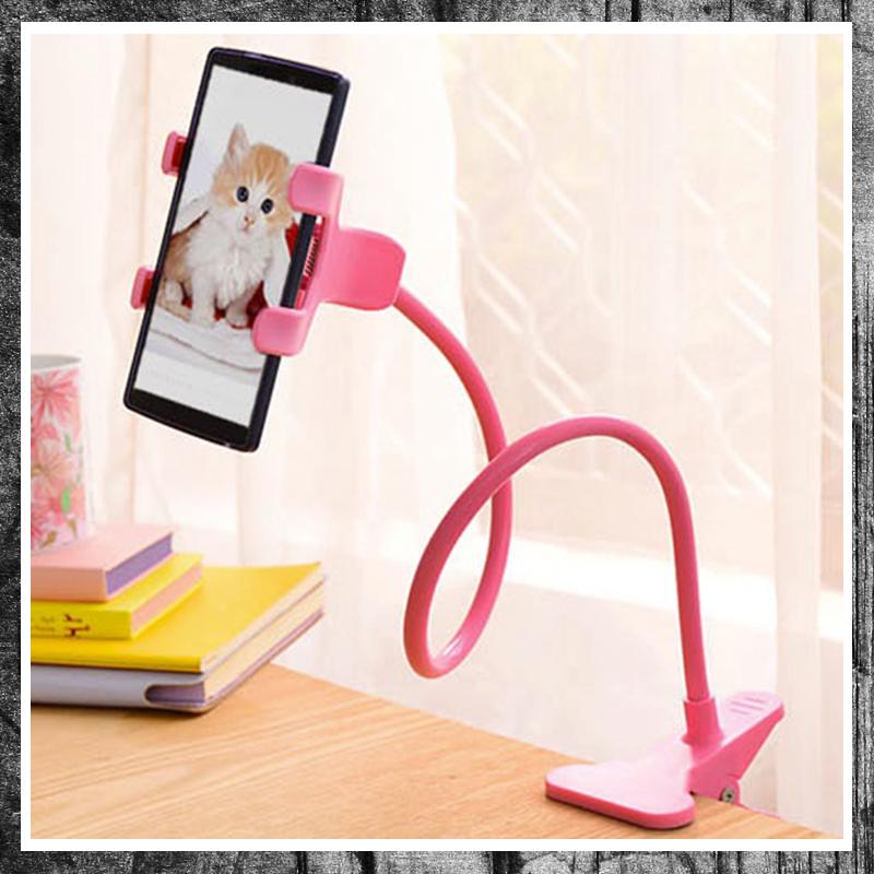 Kẹp điện thoại đuôi khỉ kẹp bàn uốn dẻo chắc chắn