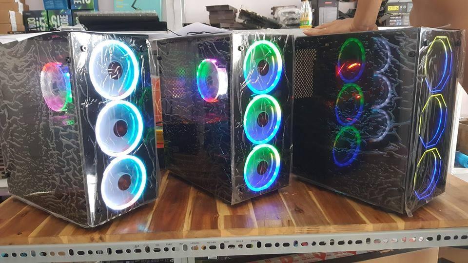 GAMING PC - BN 1050Ti - G5400/ H310/ 8GB/ 120GB/ GTX 1050Ti/ 450W + MÀN HÌNH CONG 24 INCH CHUYÊN GAME CHO KHỞI ĐẦU HOÀN HẢO