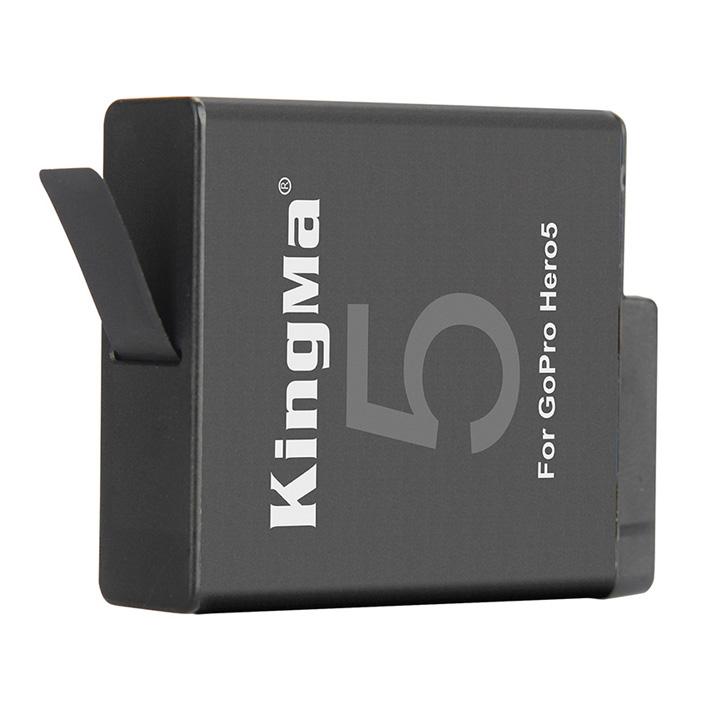 Pin sạc KingMa dung lượng 1220mAh cho GoPro Hero 5 6 Kèm hộp pin  - Hàng chính hãng
