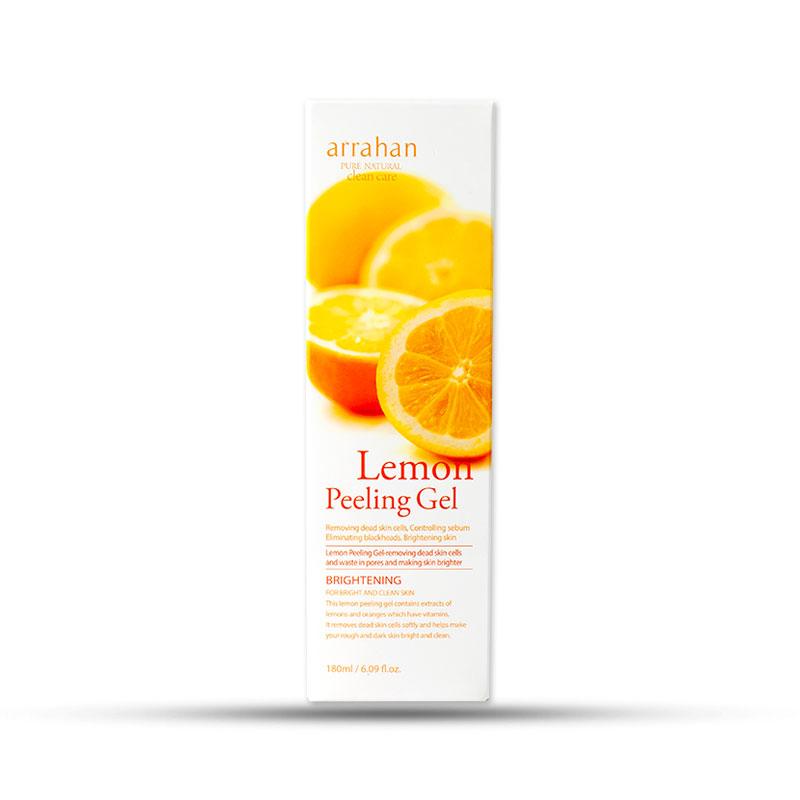 Gel tẩy da chết Arrahan Lemon White Peeling Gel (180ml)