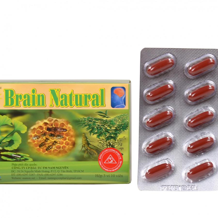 Thực Phẩm Chức Năng Hỗ Trợ Não Brain Natural