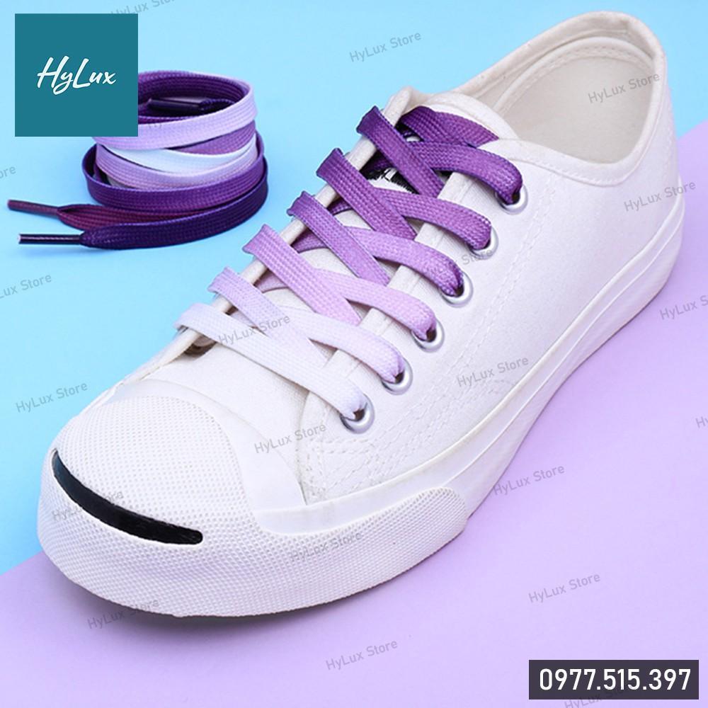 Dây Giày Gradient Cực Chất 8 Màu - Dây Giày Nike, Adidas (Kèm ảnh chụp thật)