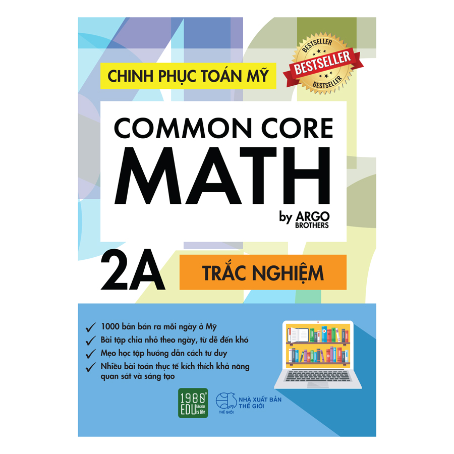 Chinh Phục Toán Mỹ - Common Core Math (Tập 2A)