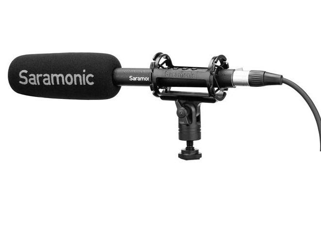 Micro thu âm Shotgun Saramonic Sound Bird T3 hàng chính hãng.
