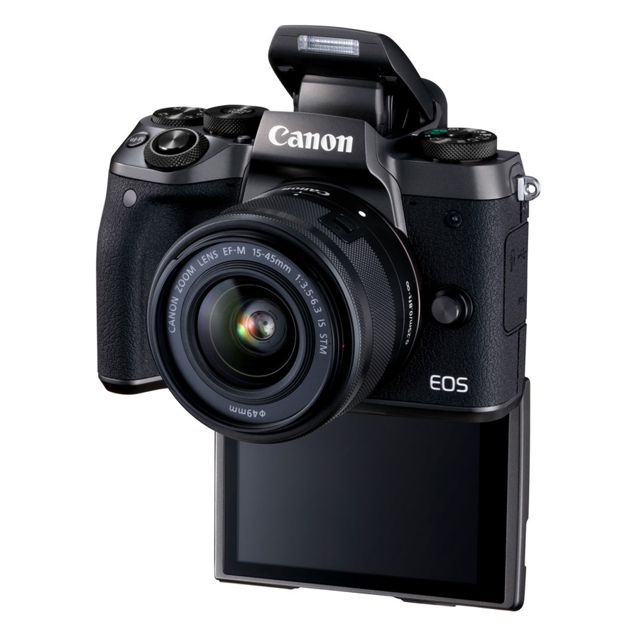 Máy ảnh Canon EOS M5 Kit EF-M15-45mm - Hàng Chính Hãng