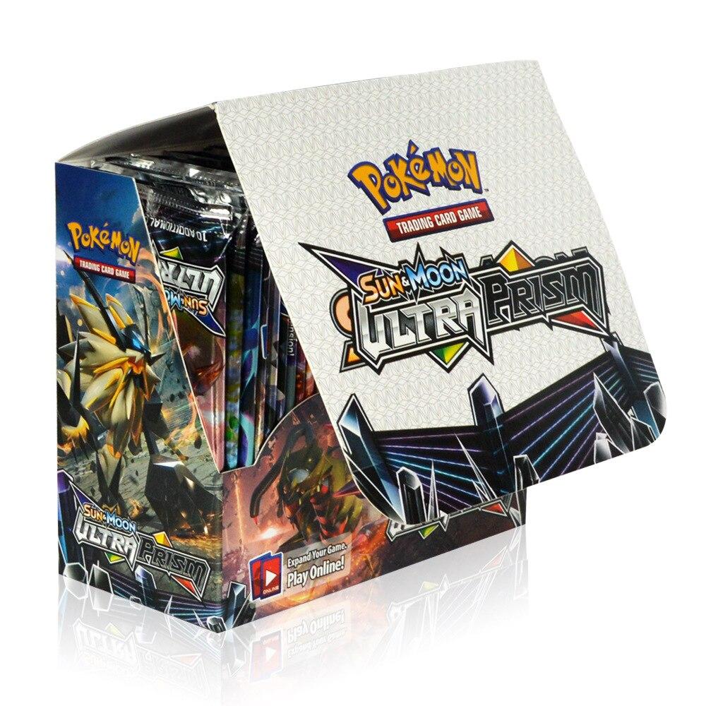 Bộ Thẻ Bài Pokemon 324 Thẻ Trading Card Game Sun&Moon Ultra Prism TCG Sưu Tập Cao Cấp