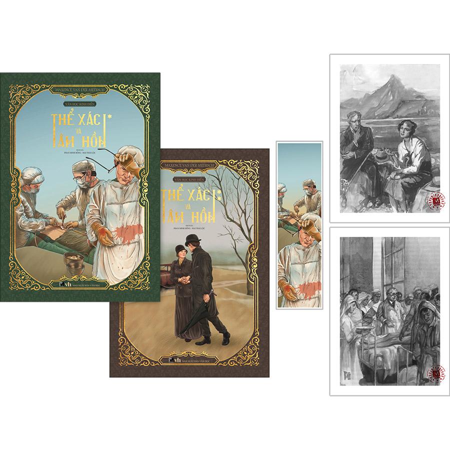 Thể Xác Và Tâm Hồn (2 Tập) (Ấn Bản Phổ Thông - Bìa Mềm) [Tặng Kèm: 2 Postcard + 1 Bookmark]
