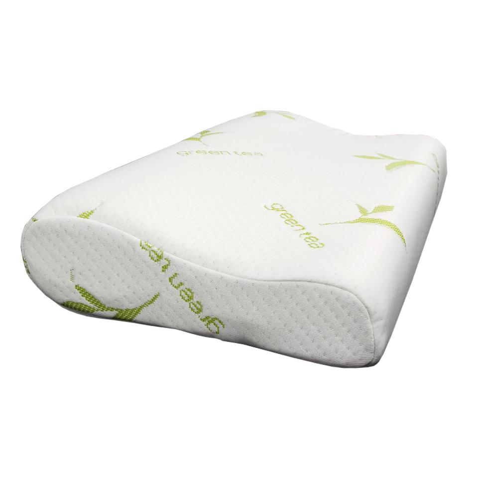 Gối Memory Foam Ưu Việt - 50*30*7/9cm - Độ chậm đàn hồi đặc biệt - Chữa đau vai gáy, bảo vệ xương khớp