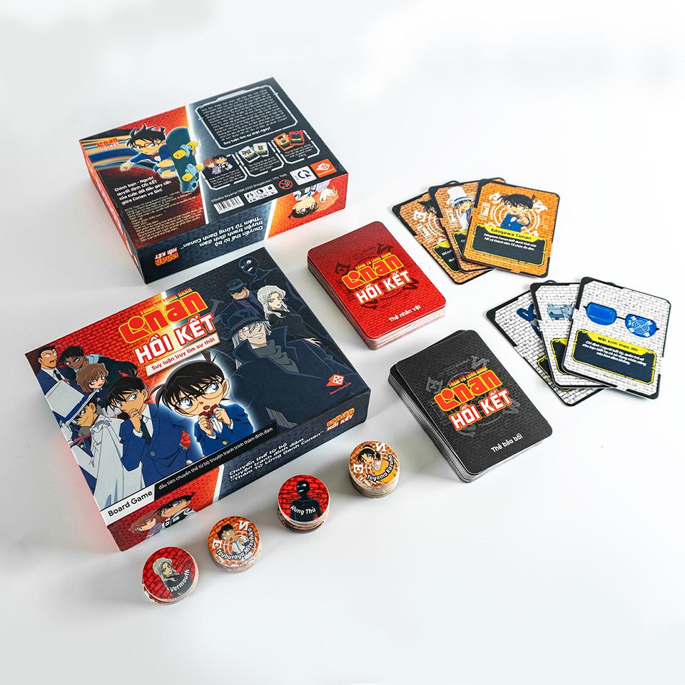 Combo Boardgame Conan - Hồi Kết và truyện Thám tử lừng danh Conan tập 98