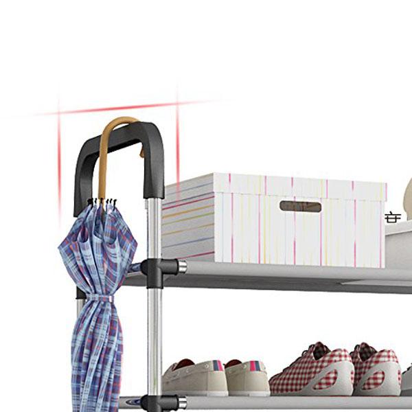 Kệ Để Giày Dép 05 Tầng Khung Inox, Giá Để Giày Inox 05 Tầng, Giày Dép, Kệ Để Đồ, Kệ Sách Loại Cao Cấp