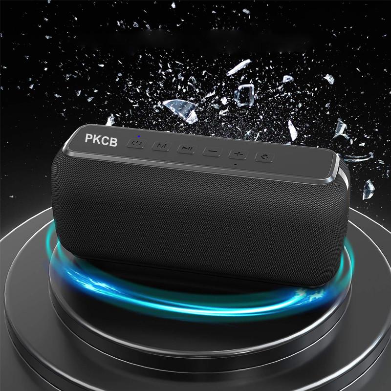 Loa Bluetooth 5.0 Không Dây ngoài trời, Loa Siêu Trầm HiFi Chống Nước Thể Thao 60W - Hàng Chính Hãng PKCB92