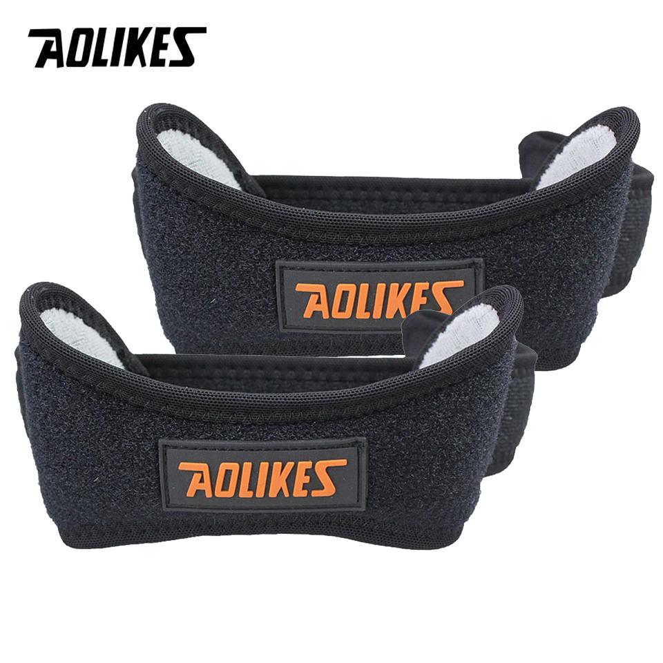 Bộ 2 đai bảo vệ hỗ trợ xương bánh chè AOLIKES YE-7918 hỗ trợ khớp gối Magnetic Knee Support Belt