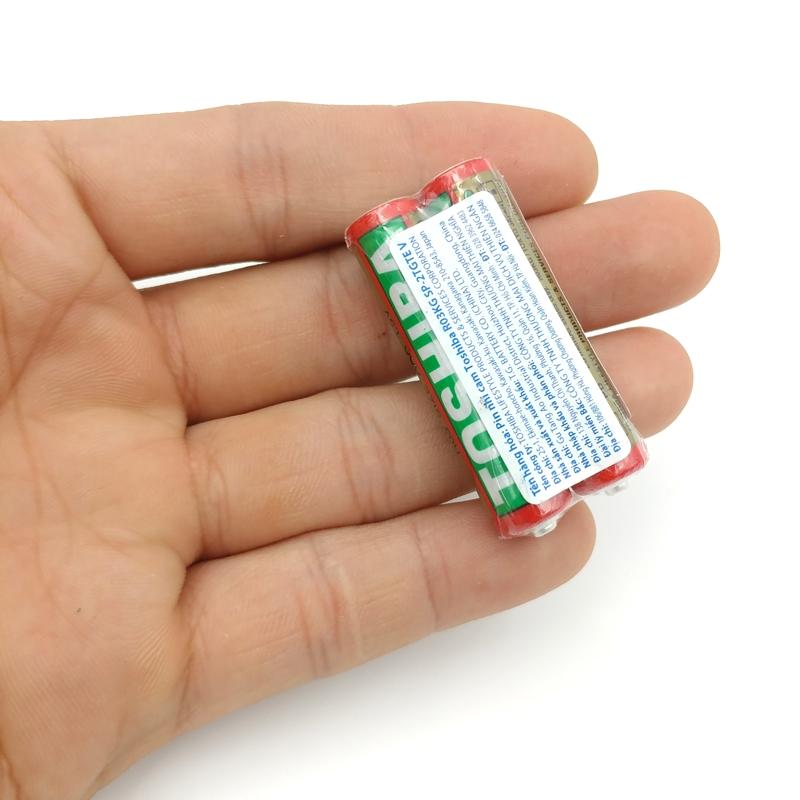 Pin Toshiba AAA R03KG SP-2TGTE 1.5V (2 Viên)