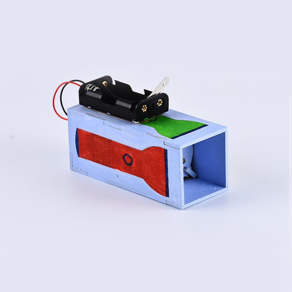 Bộ đồ chơi khoa học tự làm đèn pin phổ quang màu bằng gỗ – DIY Wood Steam