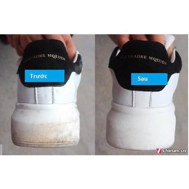Lọ Tẩy Giày, Túi Sách Plac Dạng Đầu Cọ 100ml( Kèm Video )