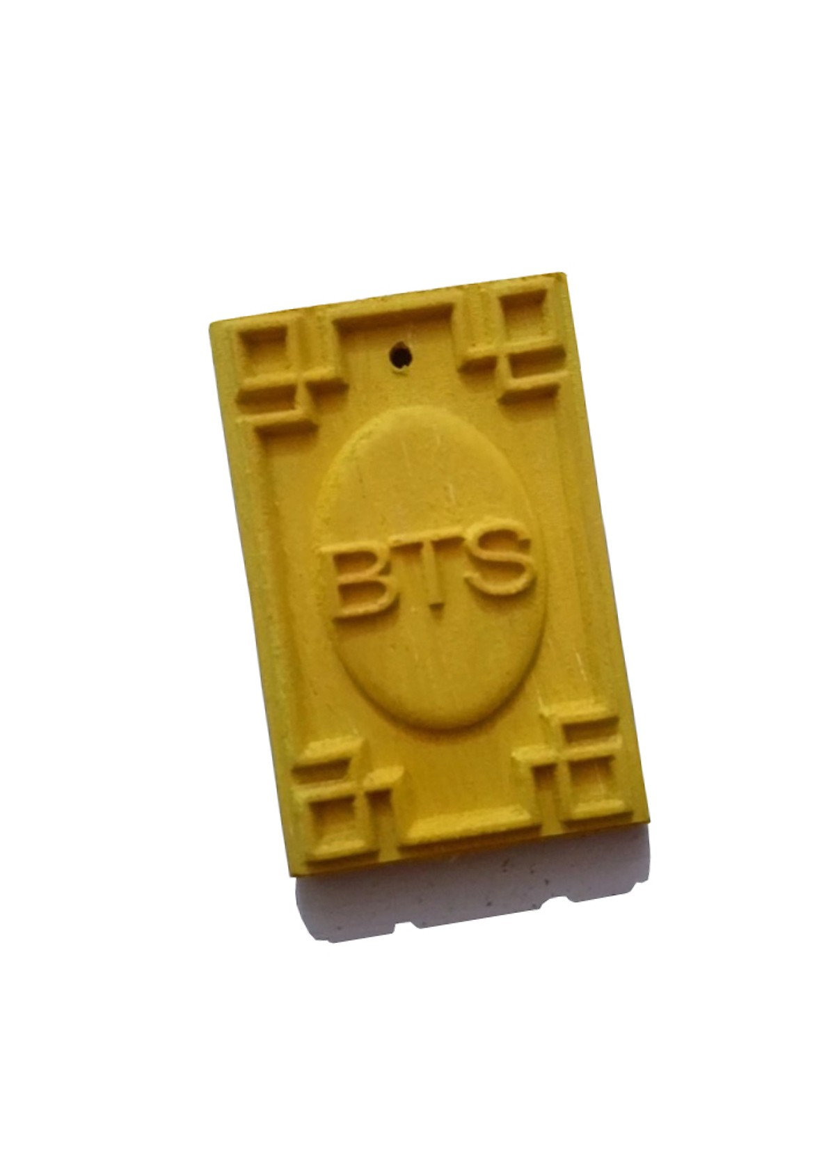 Quạt BT21 BTS 3 cấp độ gió sạc điện - Kèm móc khóa gỗ thiết kế độc quyền