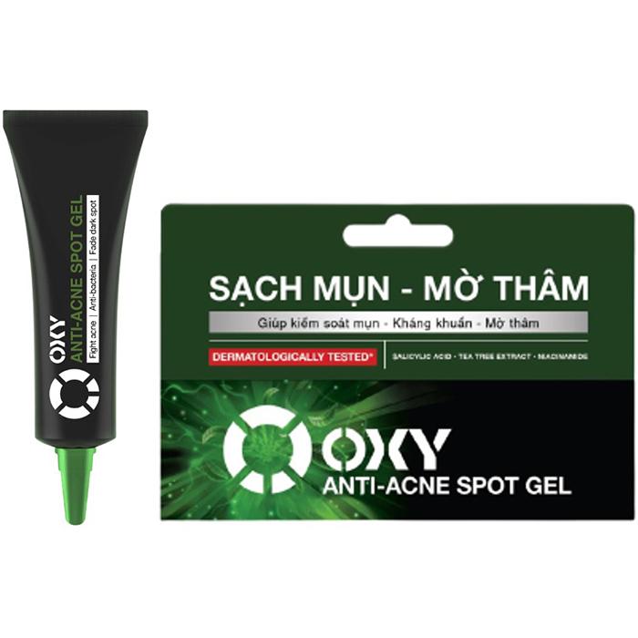 Gel Sạch Mụn Mờ Thâm Oxy Anti-Acne Spot Gel (10g)