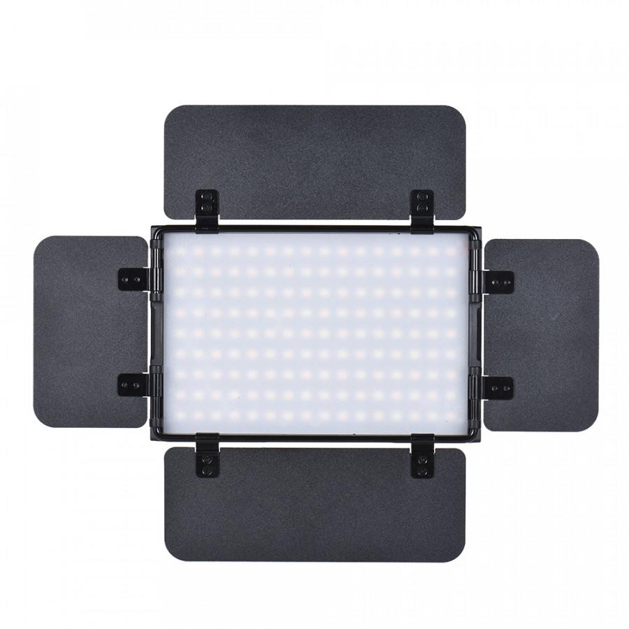 Tolifo PT -15B PRO II 15W LED Panel Light Dimmable Bi -color 3200K - 5600K Ultra -thin Aluminum Alloy On -Camera Lamp with Pt -15B Pro Ii