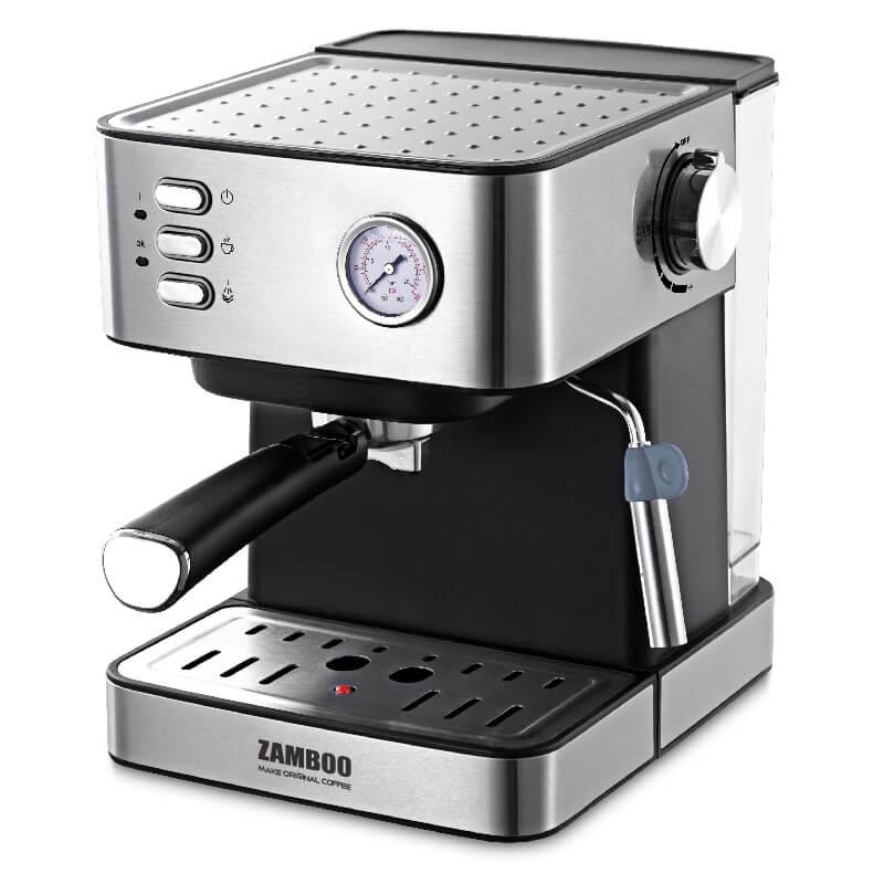 Máy pha cà phê bán tự động Espresso ZamBoo ZB-93CF - Hàng chính hãng