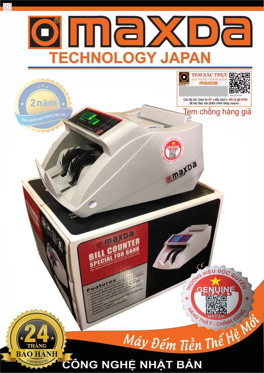 Máy đếm tiền công nghệ Nhật Bản siêu bền MAXDA - 1611 - Hàng chính hãng