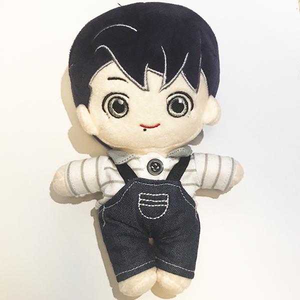 Búp bê JungKook yếm bò doll BTS Vconeshop