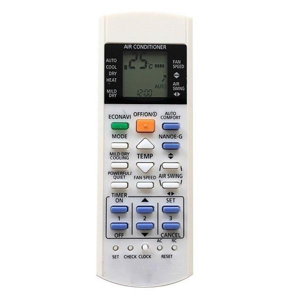 Remote Điều Khiển Cho Máy Lạnh, Điều Hòa Panasonic Inverter A75C3208, A75C3706, A75C3708 - Hàng nhập khẩu