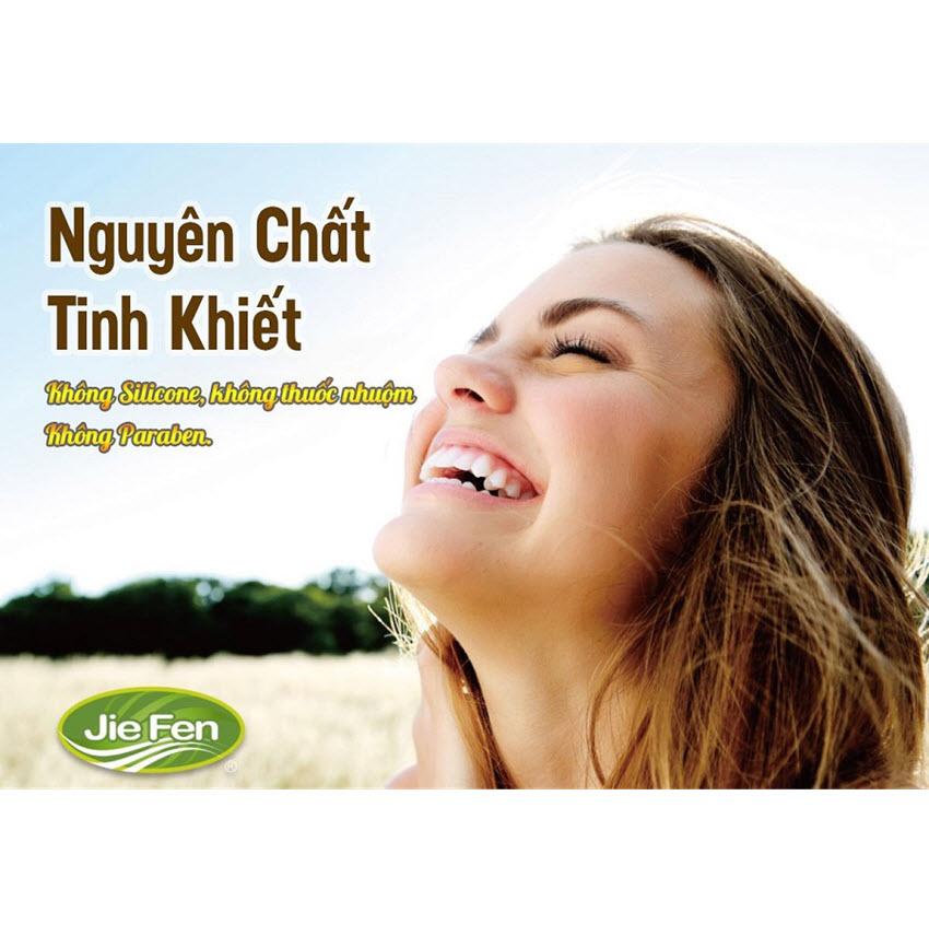 Combo 2 chai - Dầu gội thảo dược Organic tóc sạch sâu bóng mềm chắc khỏe chiết xuất tinh chất Cà phê Jie Fen Coffee Essence Shampoo, Taiwan 600 ml