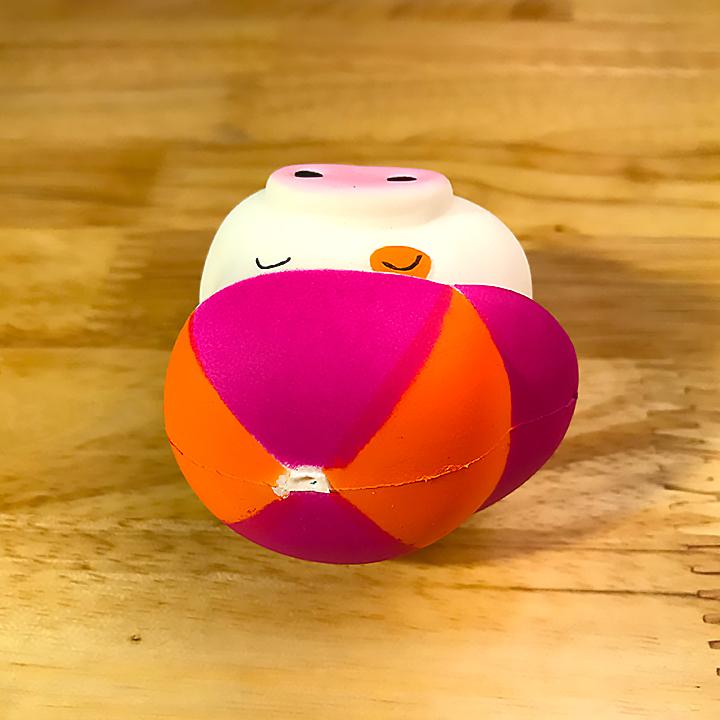 Squishy heo đội nón mini, squishy chậm tăng có thể dùng làm móc khóa