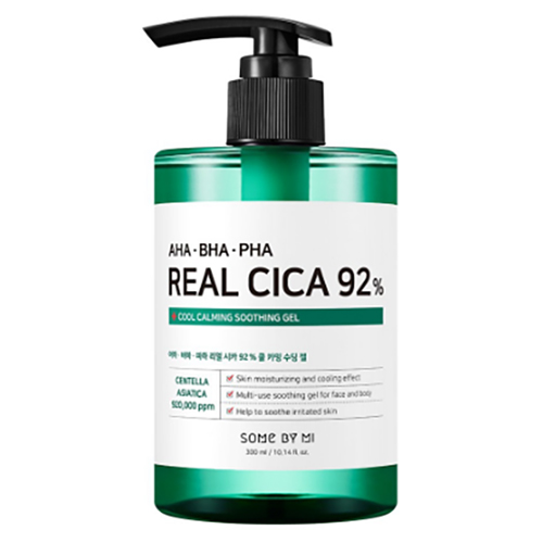 Gel Dưỡng Ẩm, Làm Mát Da Some By Mi AHA - BHA -PHA Real Cica 92% Cool Calming Soothing Gel 300ml