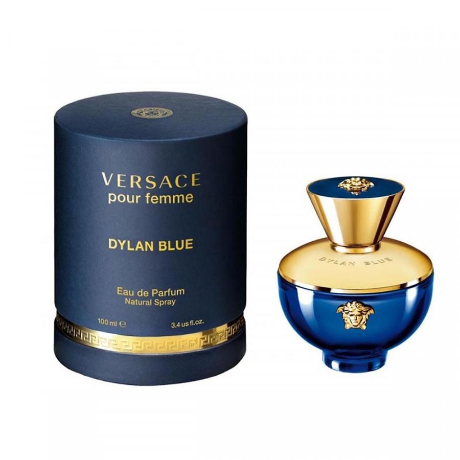 Nước Hoa Nữ Versace Pour Femme Dylan Blue - Eau De Parfum (100ml)