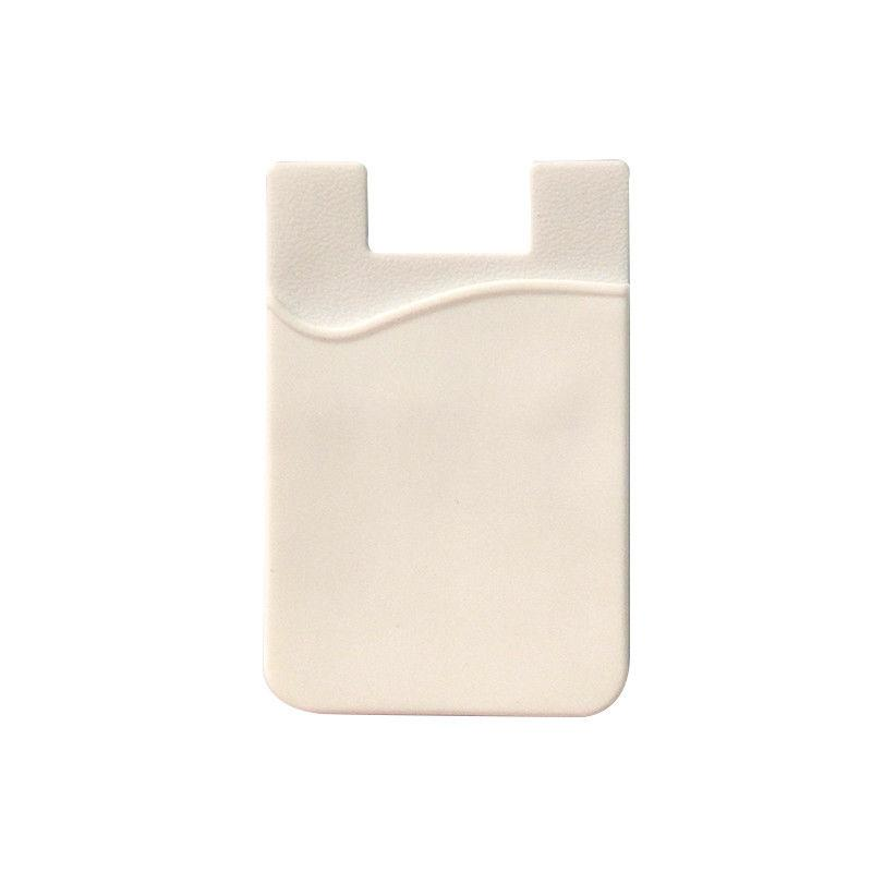 Fashion Simple Adhesive Silicone Card Pocket Money Pouch Case for Cell Phone - white - 23819832 , 8537683321884 , 62_23868887 , 201600 , Fashion-Simple-Adhesive-Silicone-Card-Pocket-Money-Pouch-Case-for-Cell-Phone-white-62_23868887 , tiki.vn , Fashion Simple Adhesive Silicone Card Pocket Money Pouch Case for Cell Phone - white