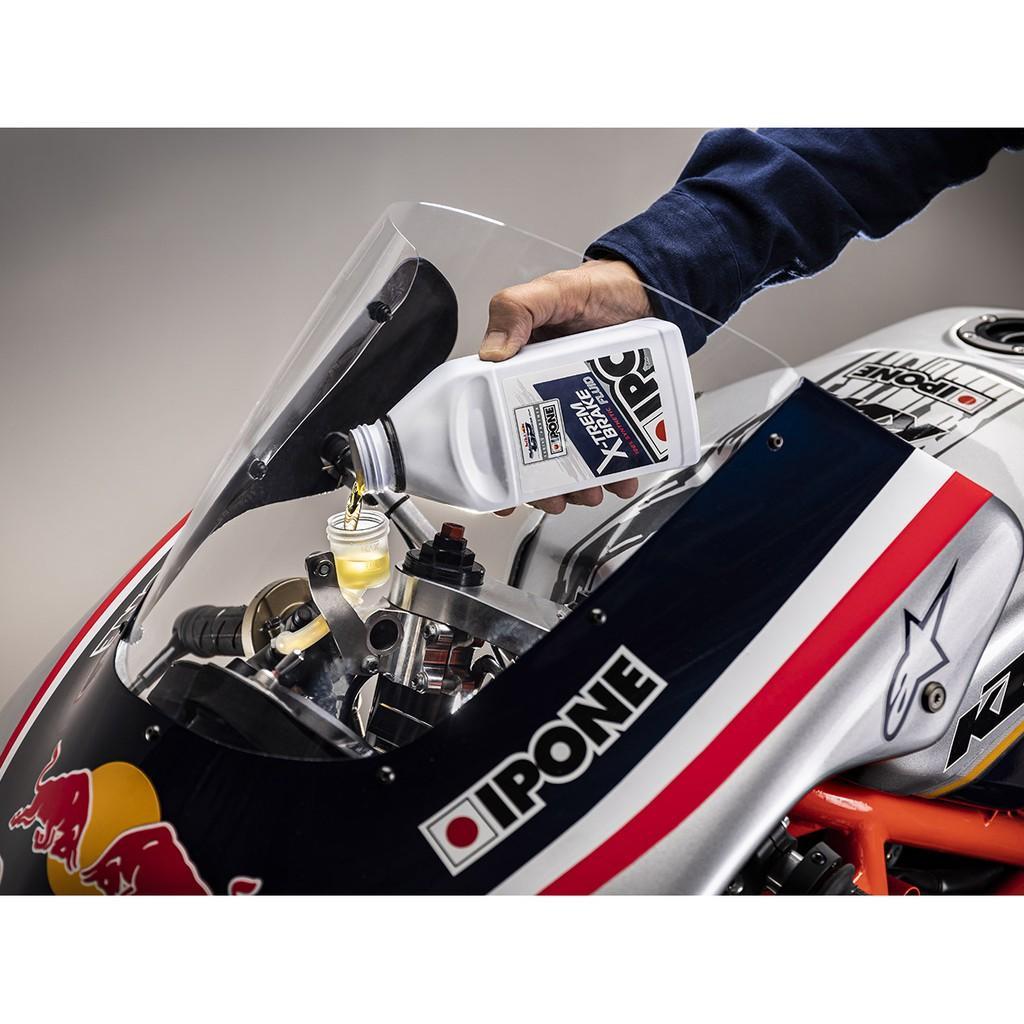 Dầu phanh/thắng xe đua tổng hợp Ipone X-trem Brake Fluid (500ml)