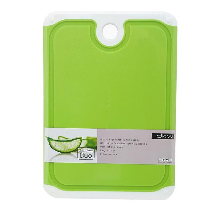 Thớt nhựa kháng khuẩn DKW size nhỏ (27cm×19cm×1,0 cm) hàng nhập khẩu Thái Lan
