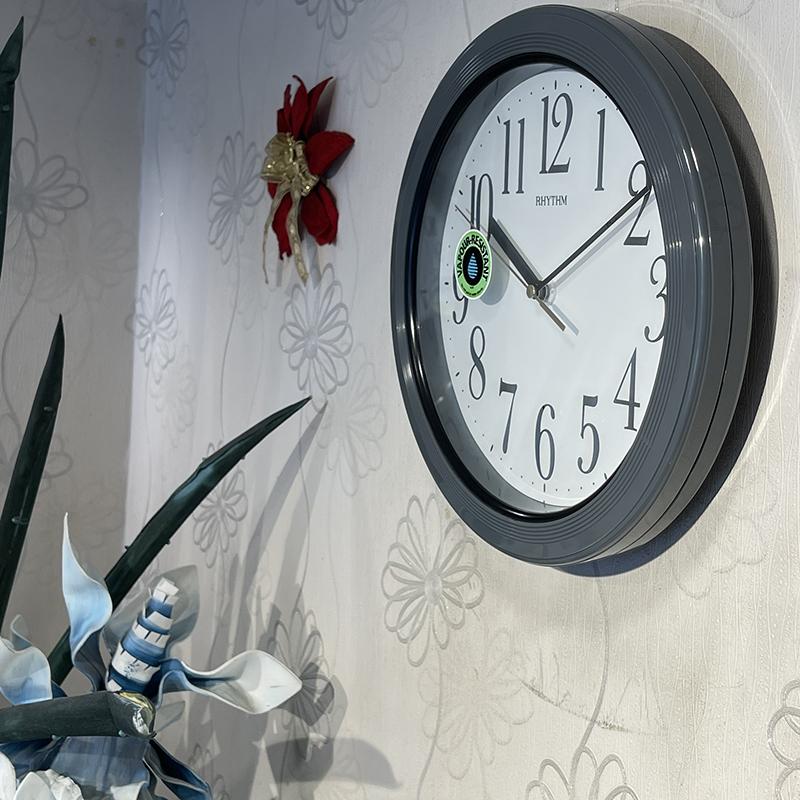 Đồng hồ treo tường hiệu RHYTHM - JAPAN CMG449NR08 (Kích thước 28.0 x 5.0cm)