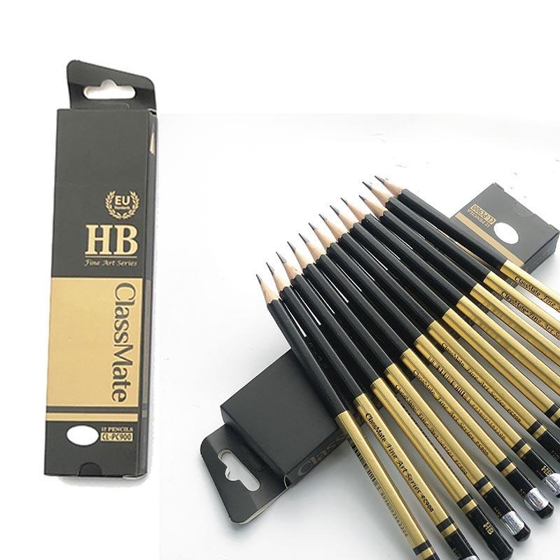 Combo 6 cây Bút chì gỗ HB ClassMate Fine Art HB CL-PC900