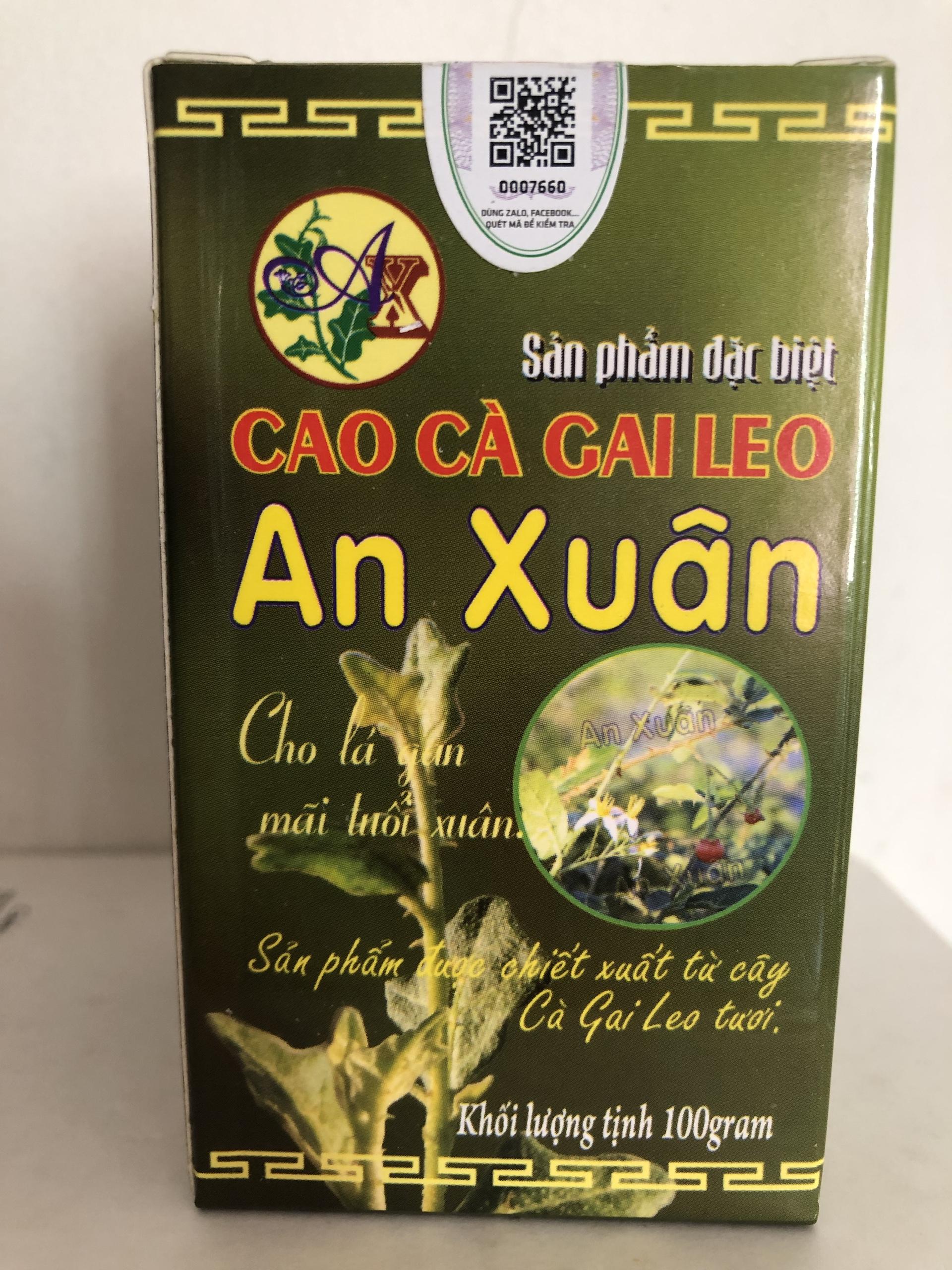 Cao Cà Gai Leo - Giải rượu, hạ men gan cấp tốc, combo 2