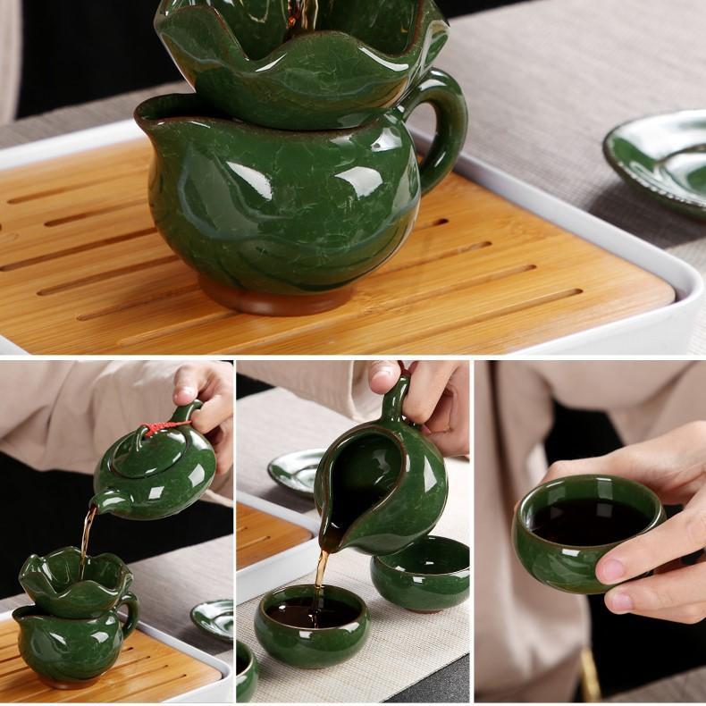 Bàn trà điện mặt đá Bách Tùng
