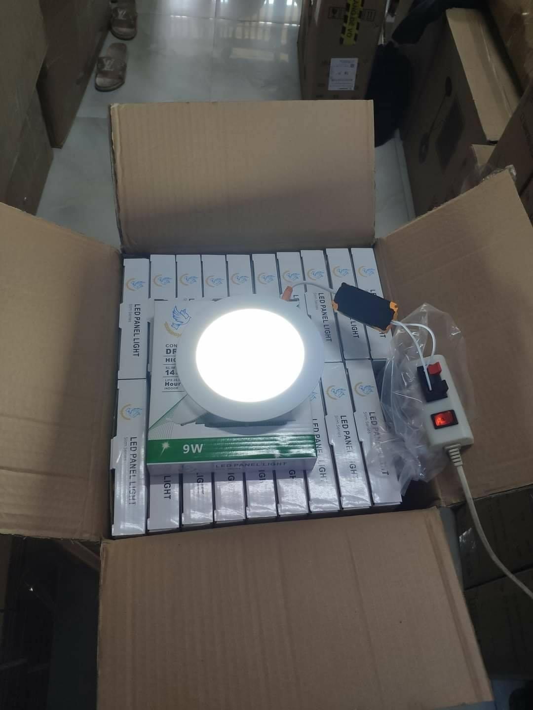 Combo 10 đèn âm trần 12W lỗ khoét 150mm Ánh sáng trắng