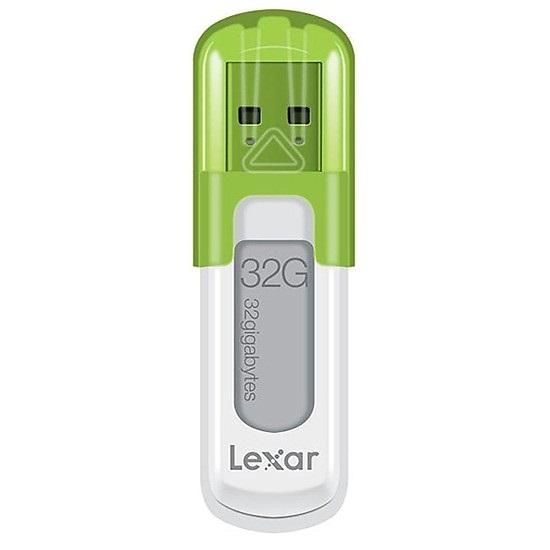 USB Lexar JumpDrive S50 Xanh lá 32GB - USB 2.0 - Hàng Nhập khẩu