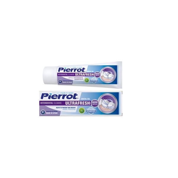 Gel đánh răng thơm mát sảng khoái PIERROT 75ml