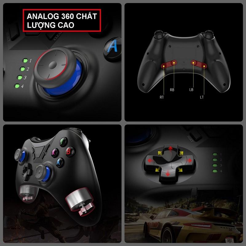 Gamepad Không dây Bluetooth TSW05 cho máy tính - điện thoại - máy game Console PS/4 - Switch