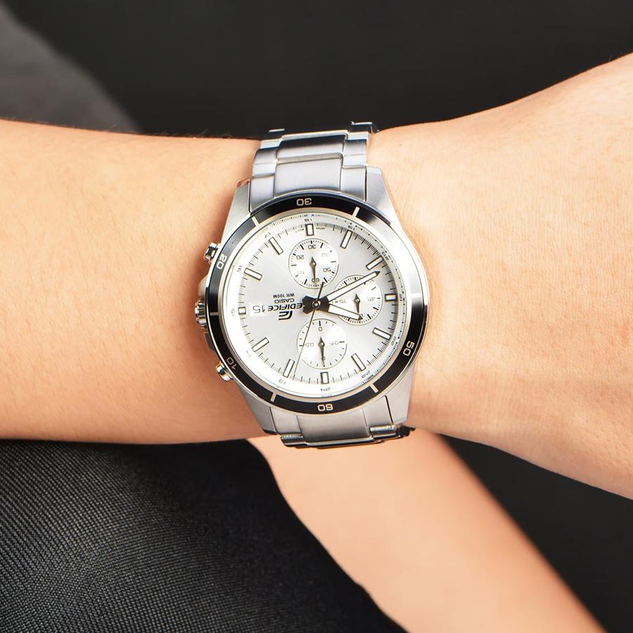 Đồng hồ nam dây kim loại Casio Edifice chính hãng EFR-526D-7AVUDF