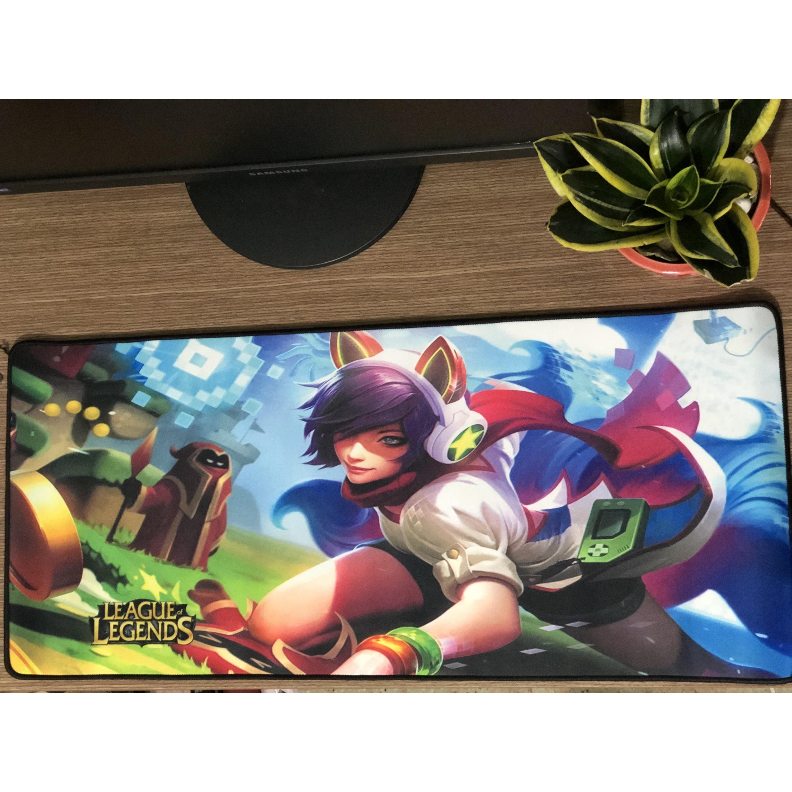 Lót chuột dành cho game thủ Ari thần tượng âm nhạc HN ( 70cm x 30cm x 3mm)