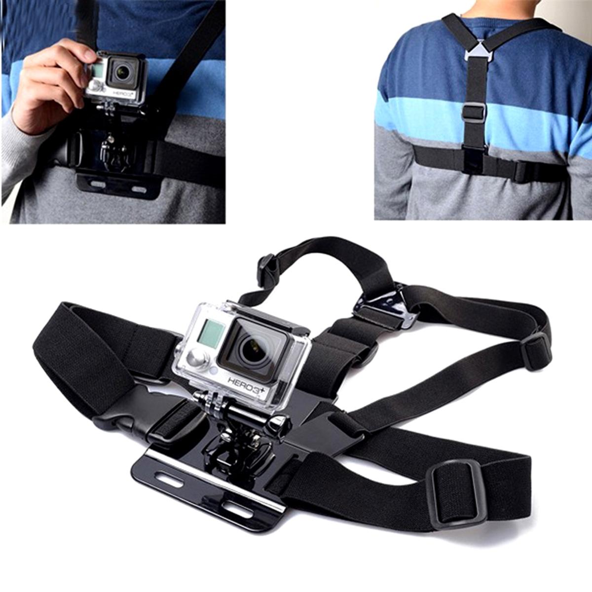 Dây đeo trước ngực gắn cho camera hành trình và điện thoại -59995