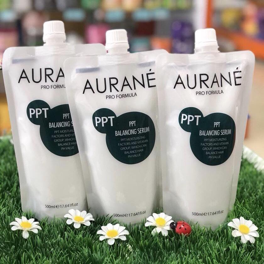 Enzyme Aurane PPT Balancing Serum - Dầu hấp tóc phục hồi cân bằng 500ml