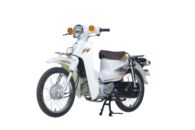 Xe Máy 50cc DK Retro - Màu Trắng