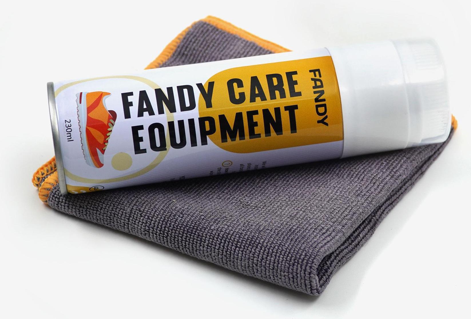 Chai xịt bọt vệ sinh giày dép fandy care equipment