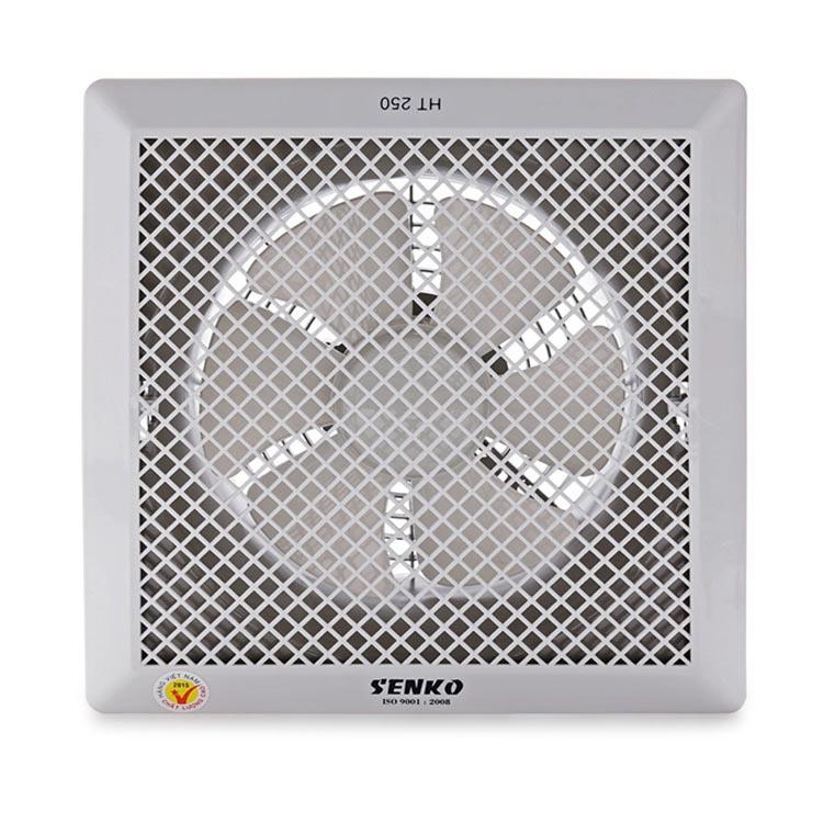 Quạt hút thông gió âm trần 1 chiều cao cấp Senko HT250 40W (Hàng Chính Hãng)