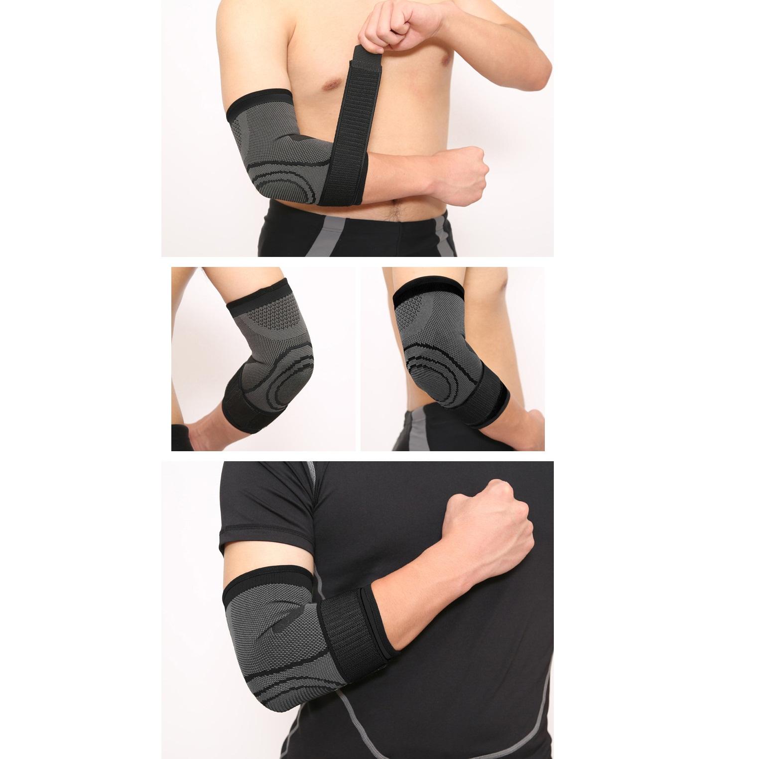 Bảo vệ khuỷu tay Aolikes giảm thiểu chấn thương ngoài ý muốn (1 đôi)