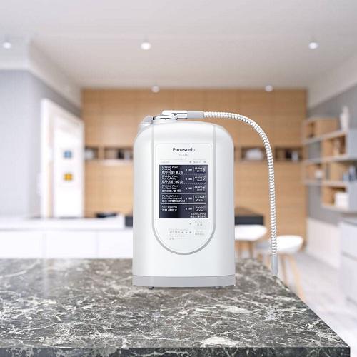 Máy lọc nước điện giải ion kiềm Panasonic TK-AS45 - Hàng chính hãng - Sản xuất tại Nhật Bản 3 tấm điện cực tạo ra 5 loại nước sử dụng cho gia đình
